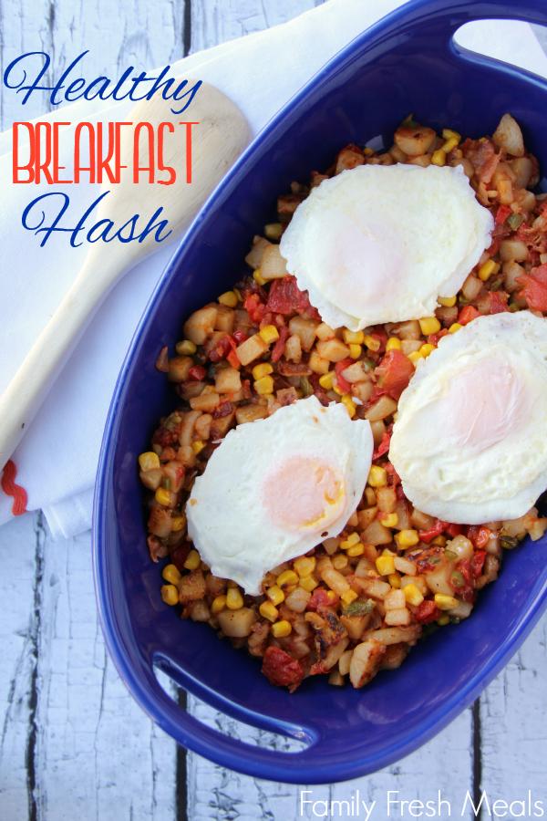 Del Monte Healthy Breakfast Hash -- FamilyFreshMeals.com