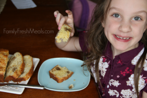 Savory Sausage & Cheese Breakfast Bread - FamilyFreshMeals.com