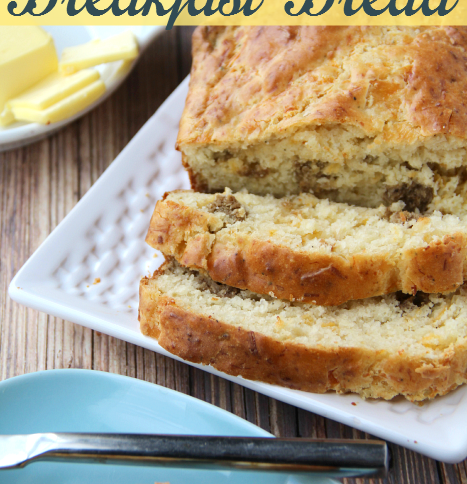 Savory Sausage and Cheese Breakfast Bread Recipe -- FamilyFreshMeals.com
