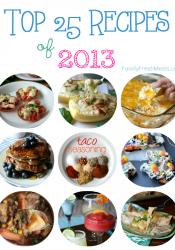 Top 25 Recipes – 2013