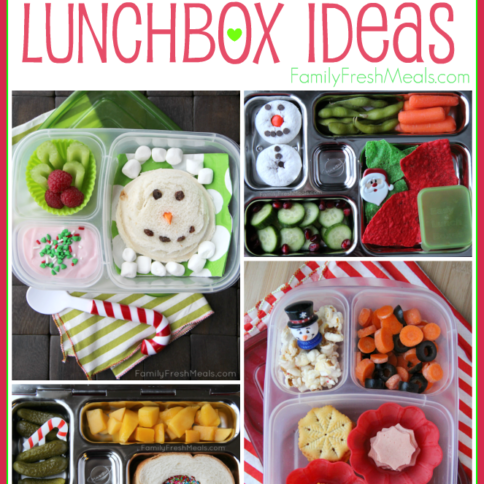 Holiday Lunchbox Ideas -- FamilyFreshMeals.com