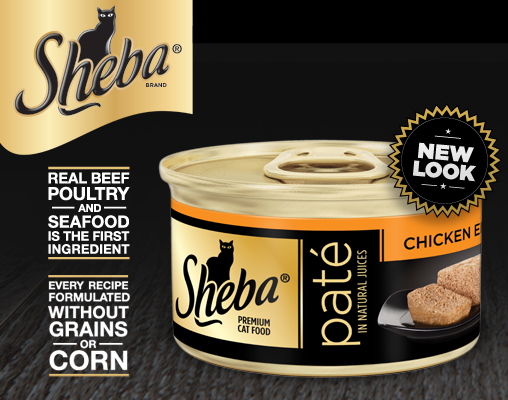 Sheba cat food review