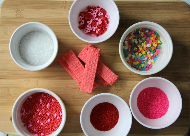 Easy Valentine's Day Cookies  - Sprinkles