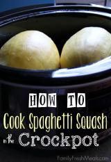 Crockpot Spaghetti Squash