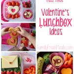 Fuss Free Valentine Lunchbox Ideas