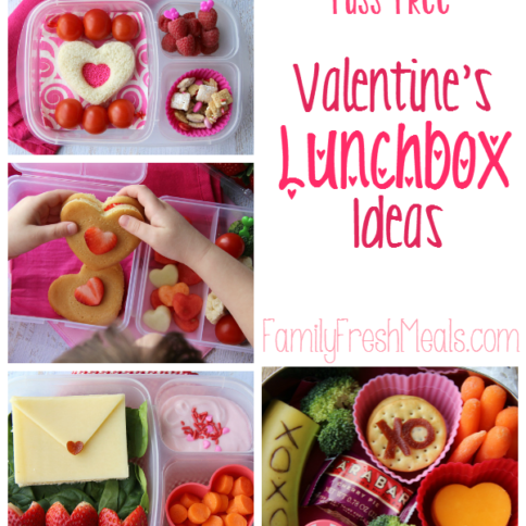 Fuss Free Valentine's Lunchbox Ideas