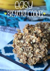 Healthy Oatmeal Breakfast Cookies Family Fresh Meals