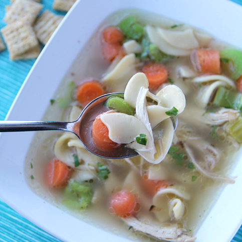 The Best Homemade Chicken Noodle Soup --