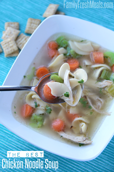 The Best Homemade Chicken Noodle Soup Family Fresh Meals