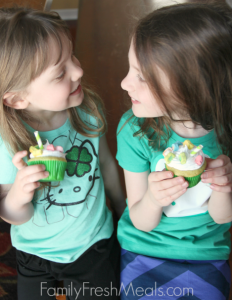 Shamrock Shake Cupcakes - Step 6