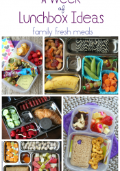 A Week of Lunchbox Ideas