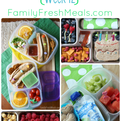 Family Lunch box ideas ---FamilyFreshMeals.com