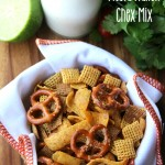 Crockpot Fiesta Ranch Chex Mix
