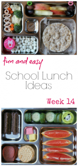 Fun School Lunchbox Ideas – Week 14