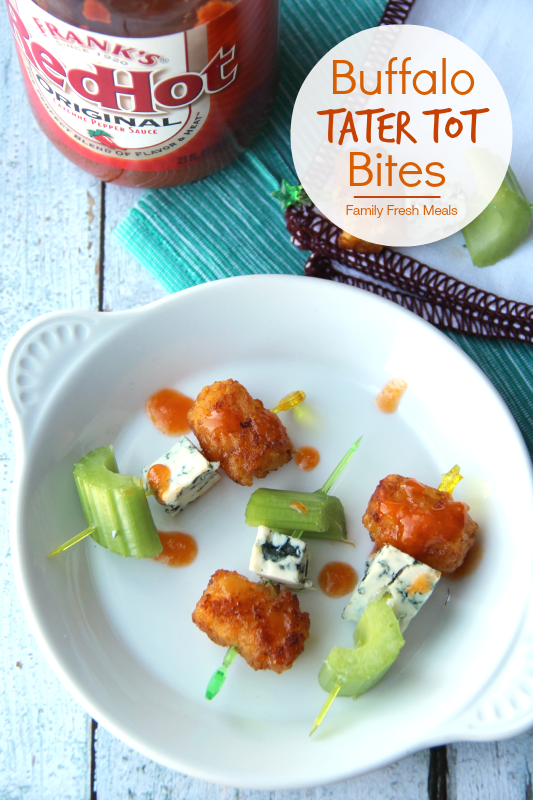 Buffalo Tater Tot Bites - Family Fresh Meals