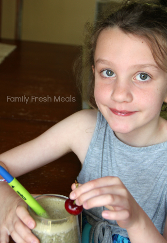 Chocolate Cherry Smoothie - Family Fresh Meals - Smoothie Sunday