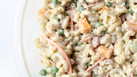 Creamy Ranch Pasta Salad Family Fresh Meals