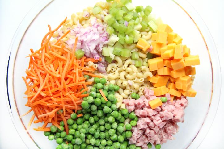 Creamy Ranch Pasta Salad - Step 1 - FamilyFreshMeals.com