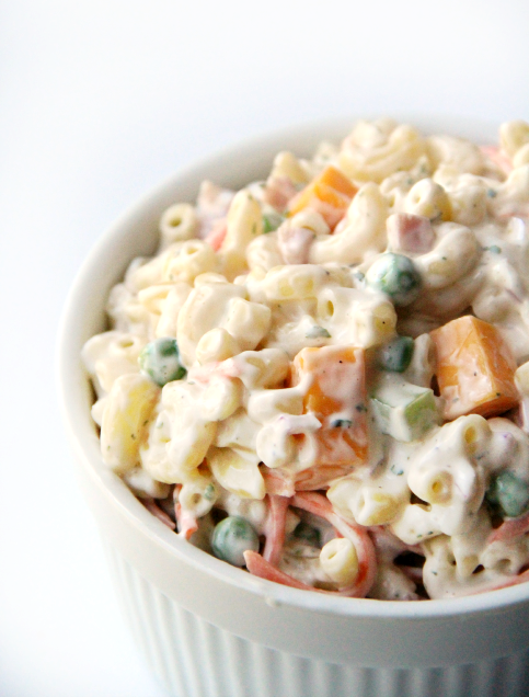 Creamy Ranch Pasta Salad - wanna bite