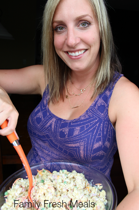 Family Fresh Meals - The best pasta salad ever! Creamy Ranch Pasta Salad