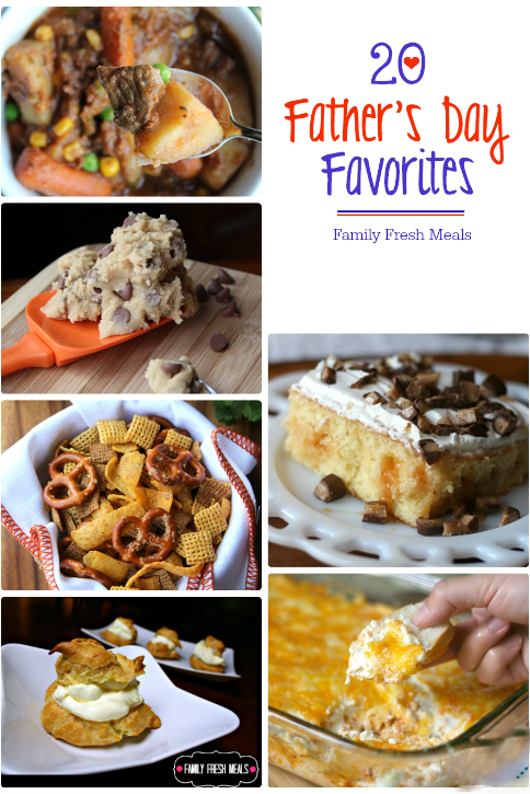 Father's Day Recipes - FamilyFreshMeals.com