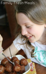 Honey Garlic Crockpot Meatballs - Family Fresh Meals