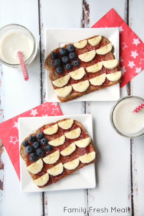 4th of July Breakfast - FamilyFreshMeals.com ---