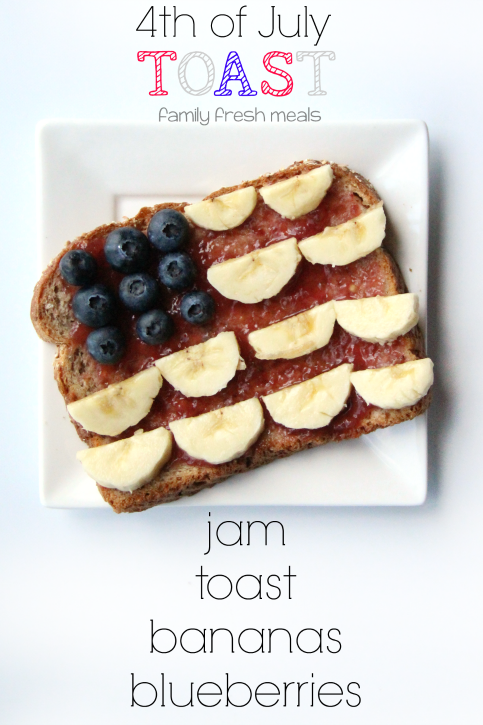 4th of July Breakfast ---- FamilyFreshMeals.com