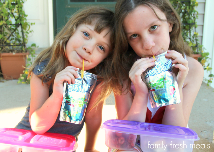 Back to school with Capri Sun - Clear bottoms - Family Fresh Meals --