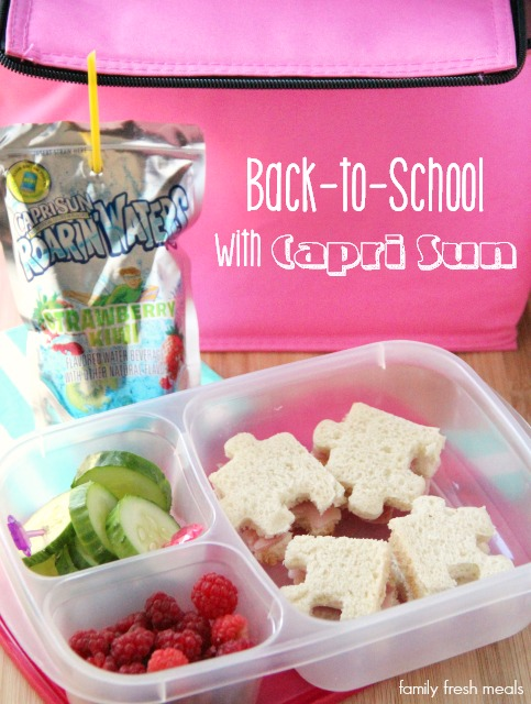 Back to school with capri sun - familyfreshmeals.com -