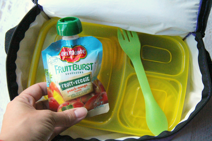Back to school with del monte - Family Fresh Meals - back to school lunch and snack ideas