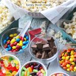 DIY Movie Night Popcorn Bar