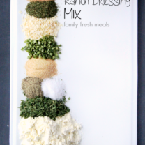 DIY Homemade Ranch Dressing Mix