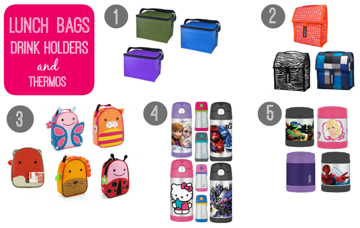 My Favorite Back to School Lunch Supplies - Lunchbags - familyfreshmeals.com
