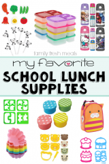 My Favorite Back to School Lunch Supplies - FamilyFreshMeals.com
