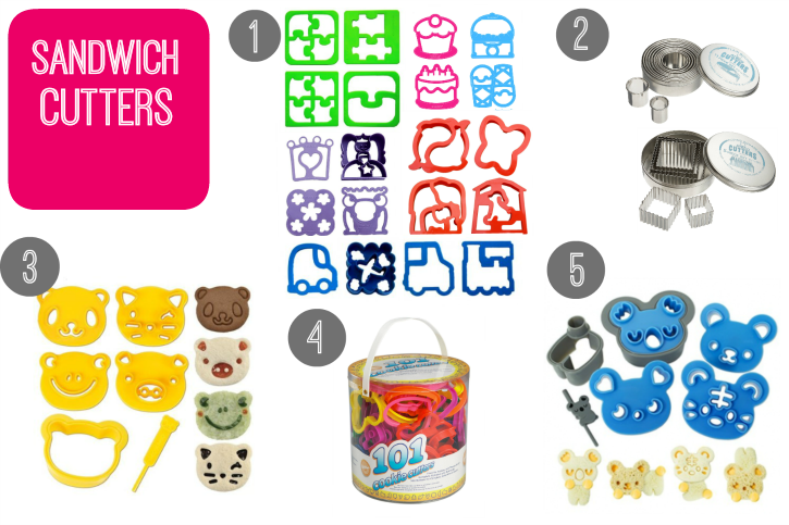 My favorite school lunch supplies - sandwich cutters - familyfreshmeals -