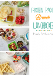 Protein Packed Lunchbox Brunch Ideas