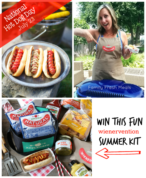 Wienervention Summer Grilling Kit GIVEAWAY - FamilyFreshMeals.com