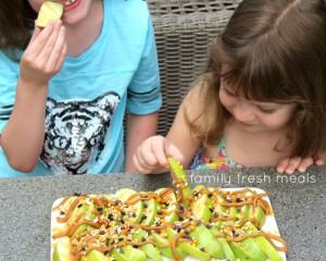 Caramel Apple Nachos  FamilyFreshMeals.com