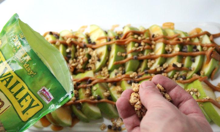 Caramel Apple Nachos - Step 5 - FamilyFreshMeals.com