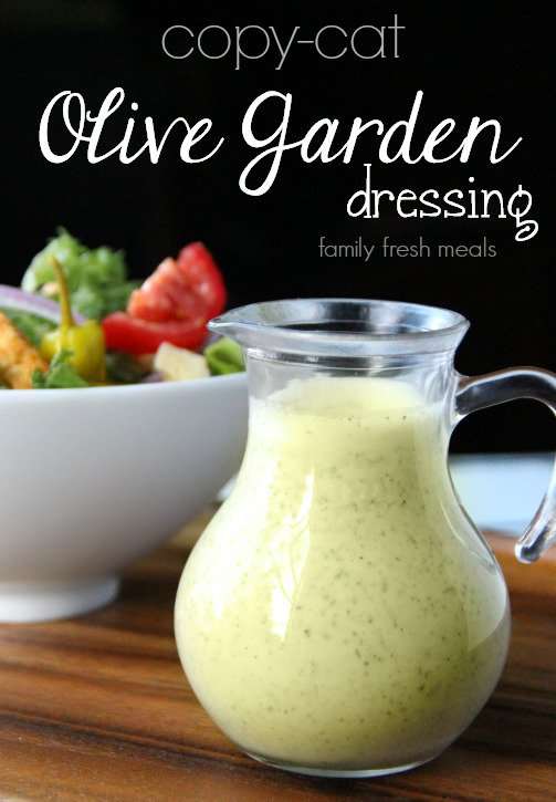 Copycat Olive Garden Salad Dressing Recipe Family Fresh Meals