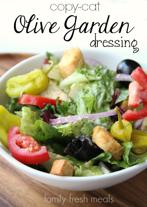 Copycat Olive Garden Salad Dressing Recipe - family fresh meals