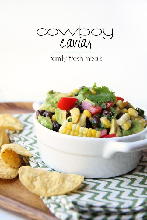 Cowboy Caviar Recipe ---- FamilyFreshMeals.com