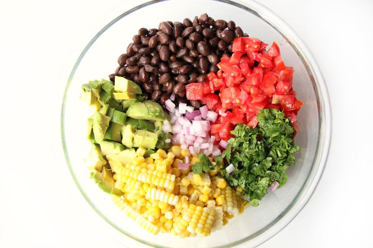 Cowboy Caviar Recipe - Step 1 - FamilyFreshMeals.com
