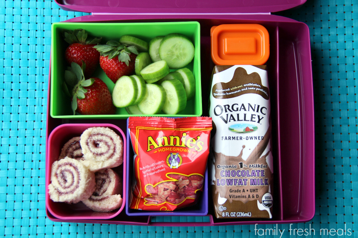 Rock the Lunchbox - School lunch ideas -  jelly sushi!