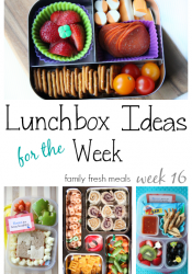School Lunch Round Up Week 16
