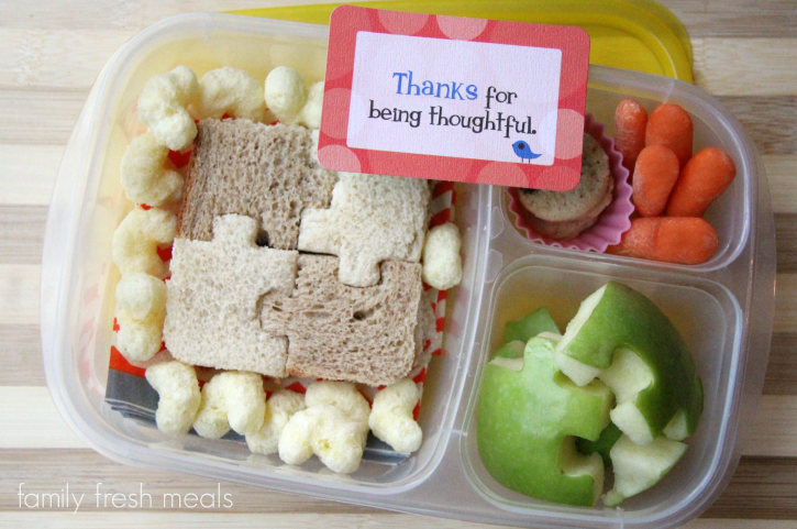 School Lunch Round Up Week 16 - Puzzle lunch - FamilyFreshMeals