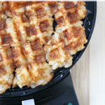 Waffle Iron Hash Brown Tater Tots