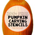 200+ Free Pumpkin Carving Stencils