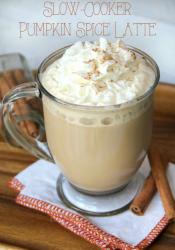 Slow-Cooker Pumpkin Latte Recipe